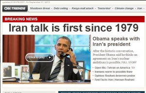 Phone Call Obama and ROhani