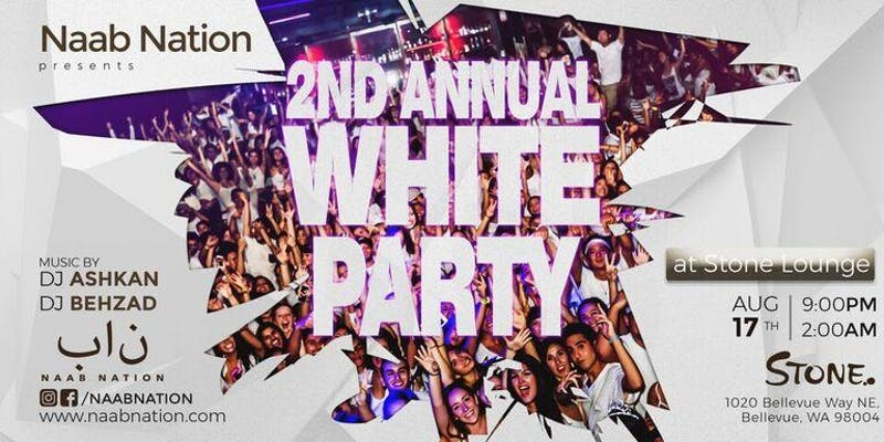 Seattle Iranian White Party 2018